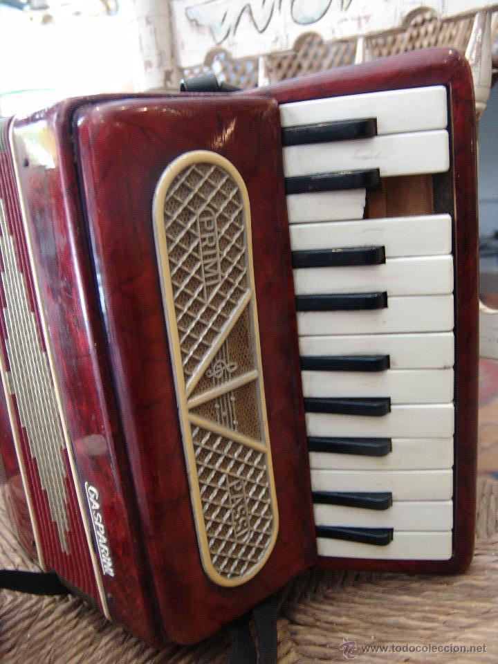 ANTIGUO ACORDEÓN PEQUEÑO (Música - Instrumentos Musicales - Viento Madera)