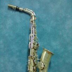 Instrumentos musicales: SAXOFON F. MONTSERRAT PARA RESTAURAR. Lote 42405675
