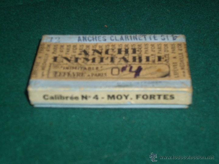 Instrumentos musicales: 8 LENGUETAS CLARINETE - CALIBRE Nº 4 - Foto 3 - 42430104