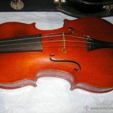 Instrumentos musicales: ANTIGUO VIOLIN EN SU ESTUCHE. Lote 42491113