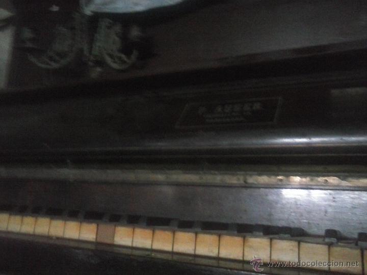 Instrumentos musicales: Piano antiguo - Foto 2 - 42565534
