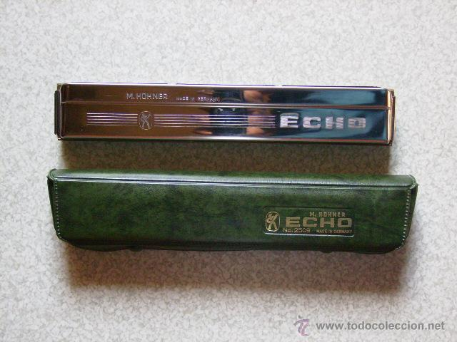 ARMONICA M.HOHNER ECHO Nº 2509 C (Música - Instrumentos Musicales - Viento Madera)