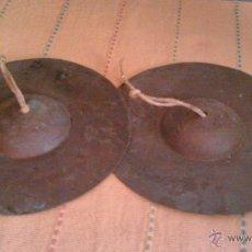 Instrumentos musicales: ANTIGUOS PLATILLOS TXUNDAS PLATOS PROFESIONALES.. Lote 43122957