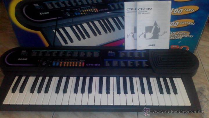 ORGANO ELECTRÓNICO CASIO CTK-80 (Música - Instrumentos Musicales - Teclados Eléctricos y Digitales)