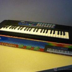 Instrumentos musicales: TECLADO CASIO CTK-120. BUEN ESTADO. 100 TONOS Y 100 RITMOS.. Lote 43424010