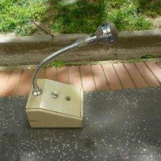 Instrumentos musicales: MICROFONO DE MESA ANTIGUO. Lote 43429250
