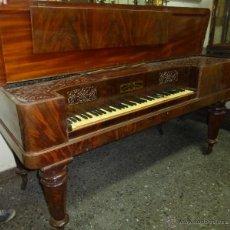 Instrumentos musicales: PIANO FORTE DE MESA INGLÉS COLLARD&COLLARD - 7. Lote 43441123