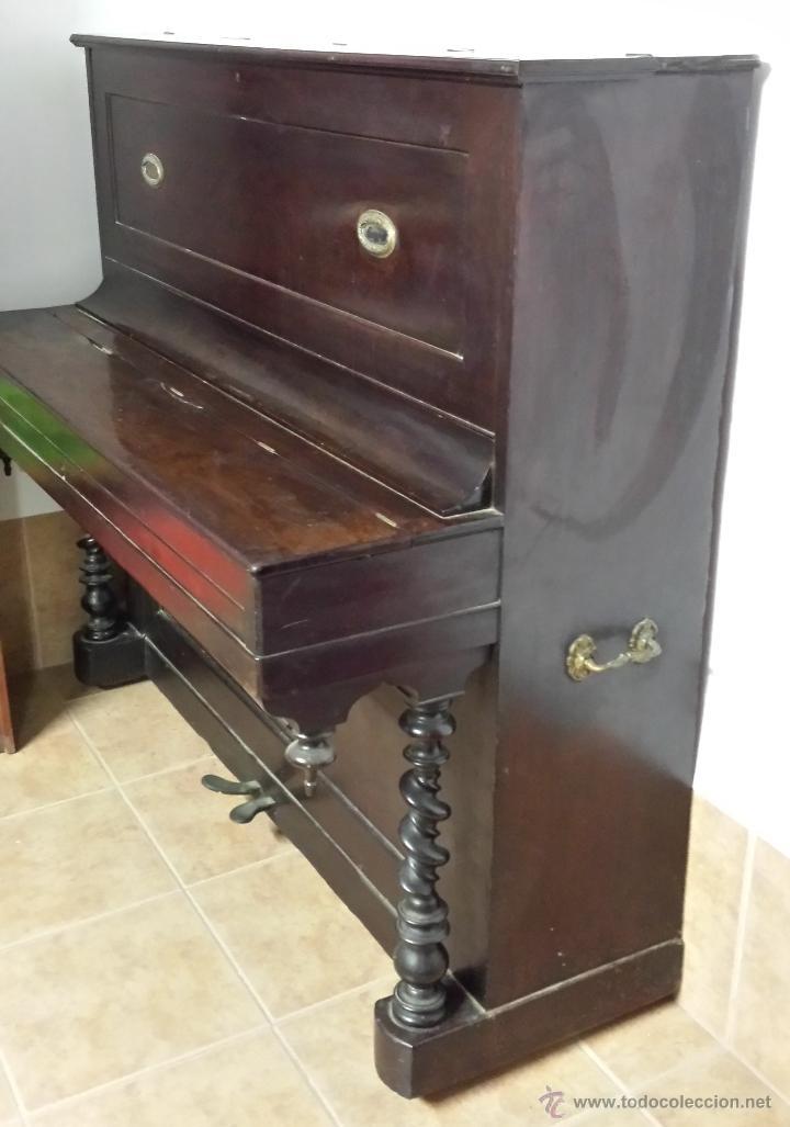 PIANO VERTICAL BOISSELOT Y CIA, - 1.847 - 404 (Música - Instrumentos Musicales - Pianos Antiguos)