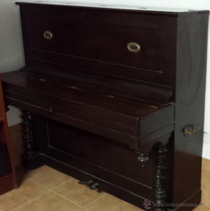 Instrumentos musicales: PIANO VERTICAL BOISSELOT Y CIA, - 1.847 - 404 - Foto 3 - 43569476