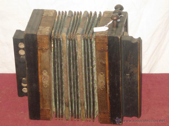 Instrumentos musicales: ACORDEON REGAL MELODION. GERMANY - Foto 4 - 43599728