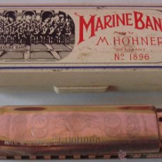 Instrumentos musicales: HARMONICA MARINE BAND M. HOHNER GERMANY . Lote 43767319