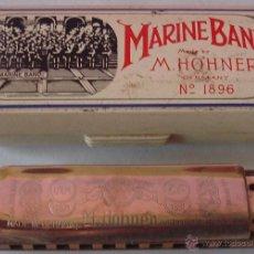 Instrumentos musicales: HARMONICA MARINE BAND M. HOHNER GERMANY . Lote 43767319