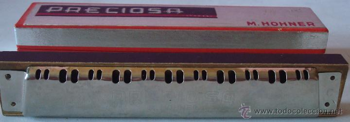 Instrumentos musicales: HARMONICA MARCA PRECIOSA M.HOHNER GERMANY - Foto 5 - 145912301