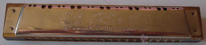 Instrumentos musicales: HARMONICA MARCA PRECIOSA M.HOHNER GERMANY - Foto 6 - 145912301