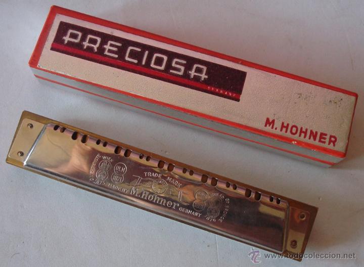 Instrumentos musicales: HARMONICA MARCA PRECIOSA M.HOHNER GERMANY - Foto 8 - 145912301