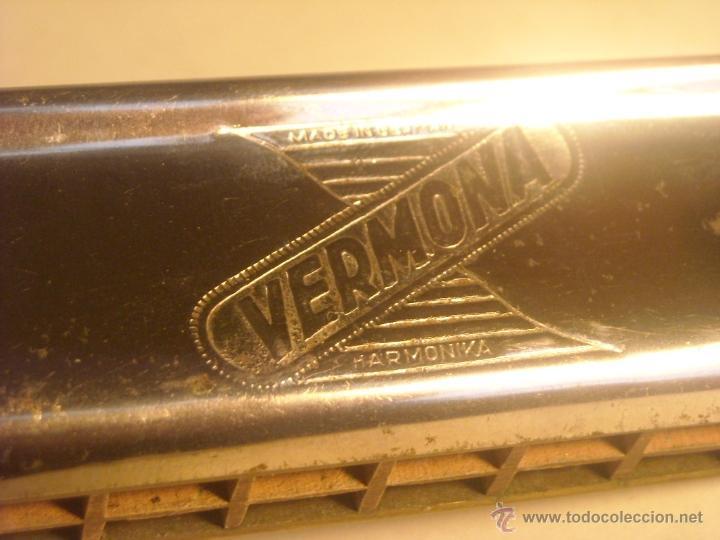Instrumentos musicales: Antigua Armonica Vermona made in Germany - Foto 7 - 43796743