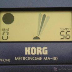 Instrumentos musicales: **METRONOMO DIGITAL FUNCIONA PERO NO SE OYE NADA. (CON AURICULARES). Lote 44395495