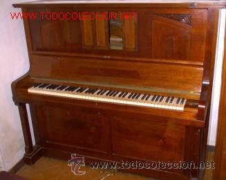 PIANO PAÜL LÖSCHE -LEIPZIG (ALEMANIA ) (Música - Instrumentos Musicales - Pianos Antiguos)