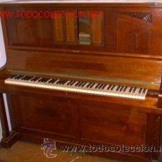 Instrumentos musicales: PIANO PAÜL LÖSCHE -LEIPZIG (ALEMANIA ). Lote 44469062
