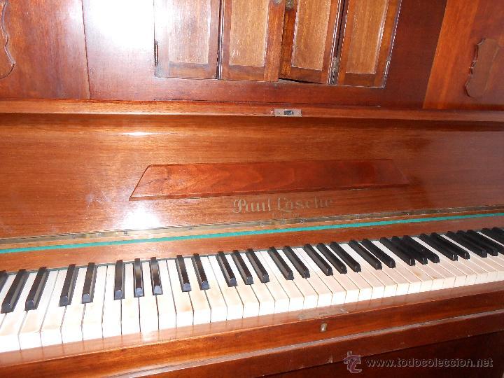 Instrumentos musicales: Piano Paül Lösche -Leipzig (Alemania ) - Foto 4 - 44469062