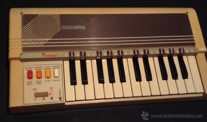 ORGANO ELECTRONICO AÑOS 70-80 BONTEMPI MEMOPLAY ELECTRICO (Música - Instrumentos Musicales - Teclados Eléctricos y Digitales)