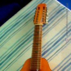 Instrumentos musicales: ANTIGUA BANDURRIA DE LA FIRMA VALENCIANA (GUITARRAS ROMANZA). Lote 45223910