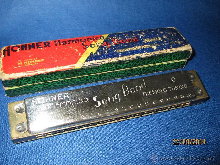 ARMÓNICA * SONG BAND TREMOLO TUNING C * DE M. HOHNER MADE IN GERMANY EN CAJA ORIGINAL - AÑO 1950S. (Música - Instrumentos Musicales - Viento Madera)