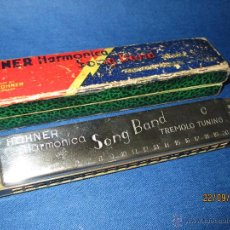 Instrumentos musicales: ARMÓNICA * SONG BAND TREMOLO TUNING C * DE M. HOHNER MADE IN GERMANY EN CAJA ORIGINAL - AÑO 1950S.. Lote 45371787
