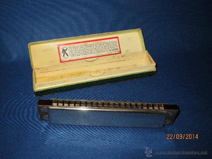 Instrumentos musicales: Armónica * SONG BAND Tremolo Tuning C * de M. HOHNER Made in Germany en Caja Original - Año 1950s. - Foto 3 - 45371787