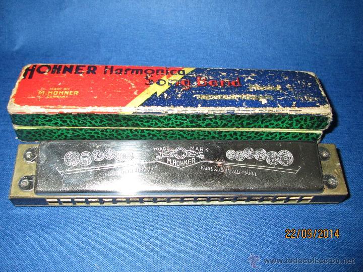 Instrumentos musicales: Armónica * SONG BAND Tremolo Tuning C * de M. HOHNER Made in Germany en Caja Original - Año 1950s. - Foto 5 - 45371787