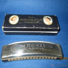 Instrumentos musicales: ANTIGUA ARMÓNICA * THE HOHNERBAND G * DE M. HOHNER MADE IN GERMANY EN CAJA ORIGINAL - AÑO 1950S.. Lote 45371981