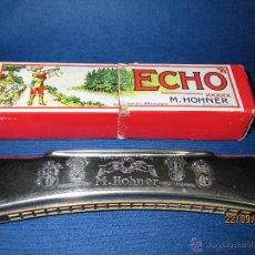 Instrumentos musicales: ANTIGUA ARMÓNICA * ECHO C * DE M. HOHNER MADE IN GERMANY EN CAJA ORIGINAL - AÑO 1950S.. Lote 45372362