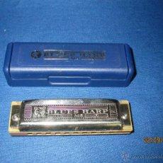Instrumentos musicales: ANTIGUA ARMÓNICA * BLUES HARP * DE M. HOHNER MADE IN GERMANY EN CAJA ORIGINAL - AÑO 1970S.. Lote 45372474