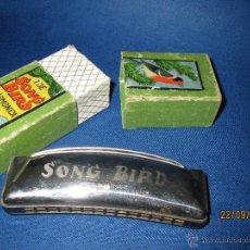 Instrumentos musicales: ANTIGUA ARMÓNICA * THE SOND BIRD * MADE IN GERMANY EN CAJA ORIGINAL - AÑO 1970S.. Lote 45372690