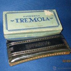 Instrumentos musicales: ANTIGUA ARMÓNICA * TREMOLA * MADE IN CHECOSLOVAQUIA EN CAJA ORIGINAL - AÑO 1970S.. Lote 45372728