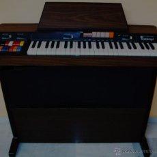Instrumentos musicales: TECLADO ELECTRONICO BONTEMPI EN MUEBLE-MEMORIA - SINTETIZADOR-SONIDO ORQUESTA. Lote 45439131