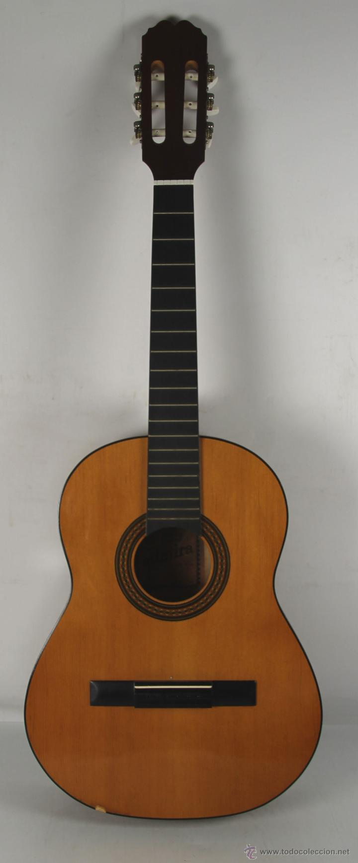 GUITARRA CLASICA. MARCA ADMIRA. MODELO ESTUDIO. AÑOS 70. (Música - Instrumentos Musicales - Guitarras Antiguas)