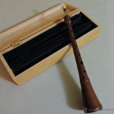 Instrumentos musicales: DULZAINA -GRALLA CATALANA CON ESTUCHE MADERA. Lote 45569279