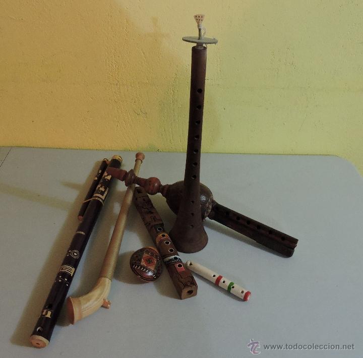 COLECCION INSTRUMENTOS DEL MUNDO (Música - Instrumentos Musicales - Viento Madera)