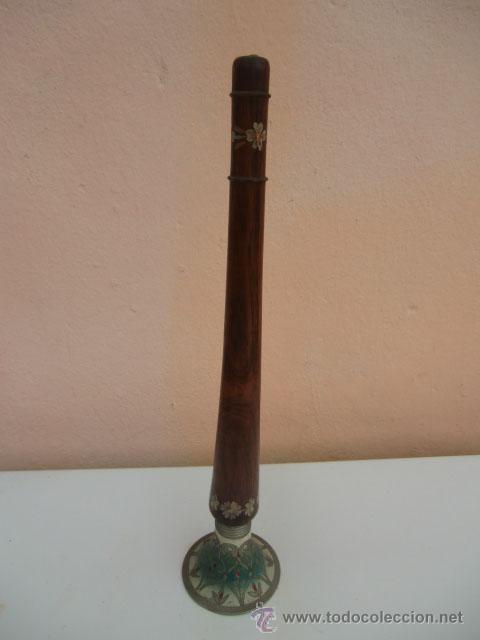 Instrumentos musicales: Flauta de madera con la base de metal - Foto 2 - 45605787
