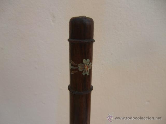 Instrumentos musicales: Flauta de madera con la base de metal - Foto 3 - 45605787