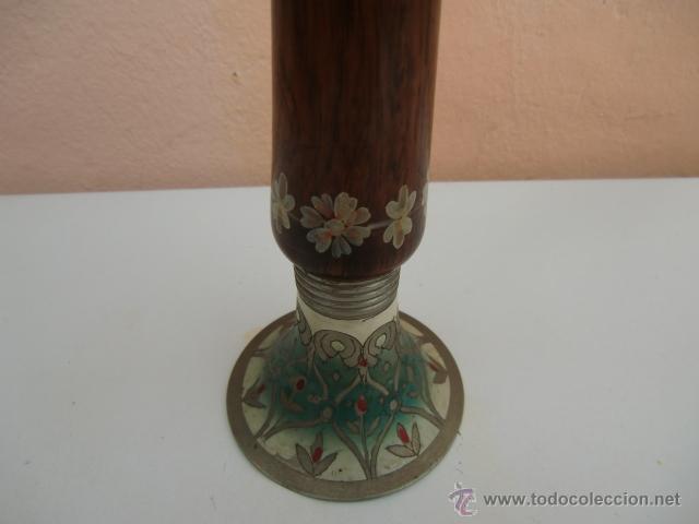 Instrumentos musicales: Flauta de madera con la base de metal - Foto 4 - 45605787