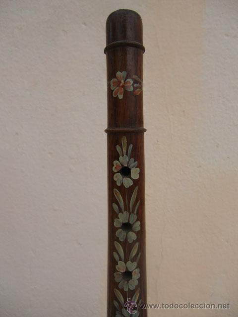 Instrumentos musicales: Flauta de madera con la base de metal - Foto 7 - 45605787