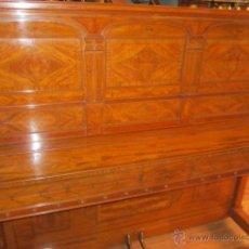 Instrumentos musicales: PIANO DE PARED STEINWAY DEL AÑO 1915, CON PRECIOSO MUEBLE DE PIANOLA . BUEN ESTADO.. Lote 45614660