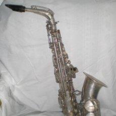 Instrumentos musicales: PRECIOSO SAXOFÓN ANTIGUO, DOLNET - PARIS. AÑOS 20.. Lote 45637366
