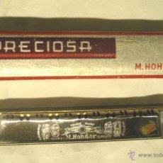 Instrumentos musicales: ARMÓNICA HOHNER PRECIOSA. MED. 15,50 CM. Lote 113327446