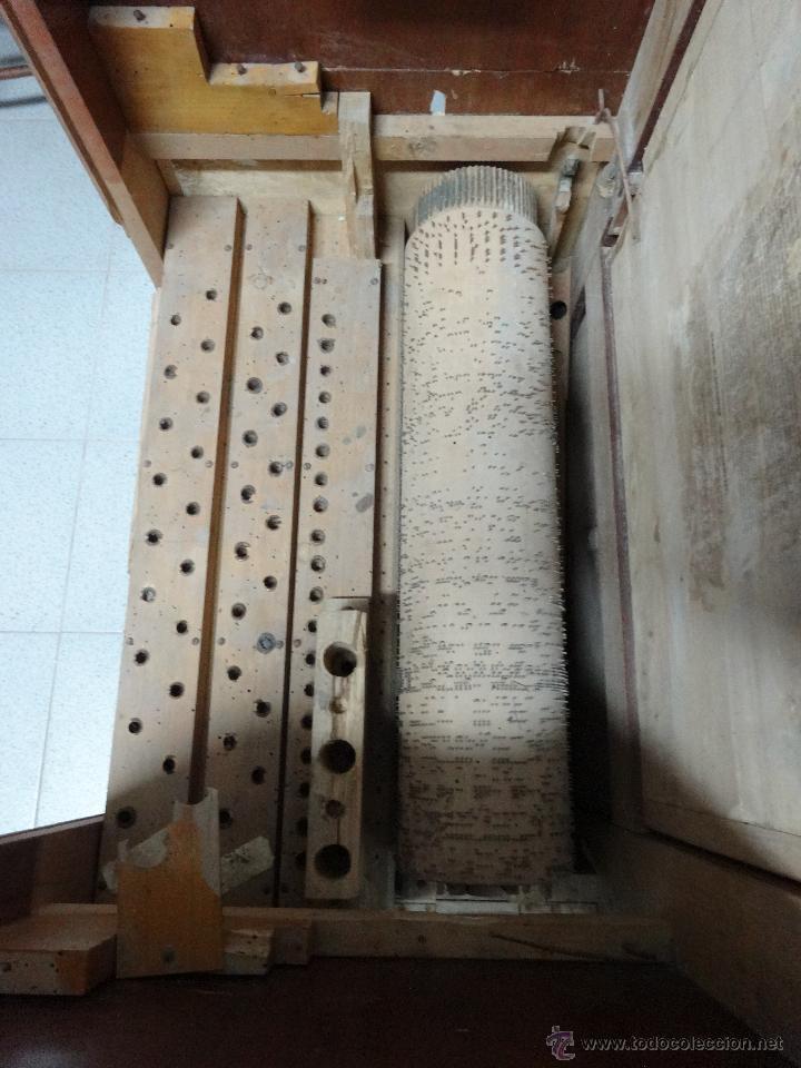 Instrumentos musicales: ÓRGANO DE CILINDRO MARCA FRANCESA SIGLO XIX- 245 - Foto 6 - 45908502