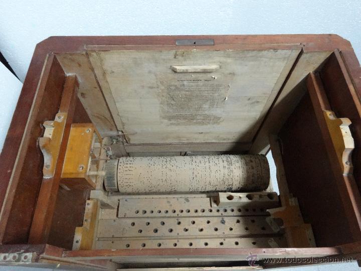Instrumentos musicales: ÓRGANO DE CILINDRO MARCA FRANCESA SIGLO XIX- 245 - Foto 8 - 45908502