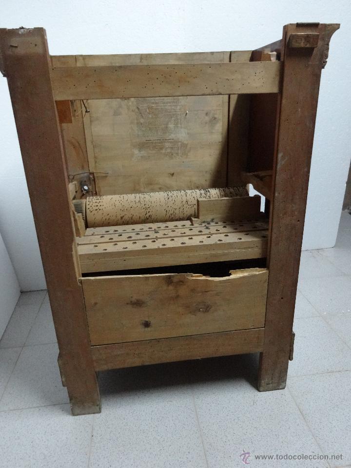 Instrumentos musicales: ÓRGANO DE CILINDRO MARCA FRANCESA SIGLO XIX- 245 - Foto 10 - 45908502