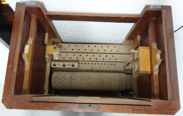 Instrumentos musicales: ÓRGANO DE CILINDRO MARCA FRANCESA SIGLO XIX- 245 - Foto 16 - 45908502